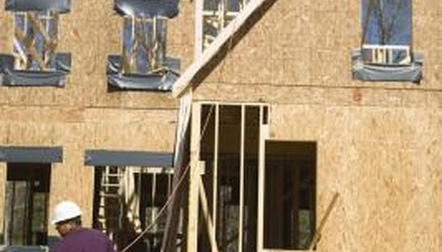 Lightweight fiberboard roof panels provide good thermal insulation.