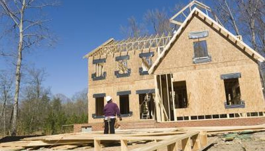 Wood Sheathing, Such As Plywood And Oriented Strand Board, Are Relatively  Inexpensive And Easy