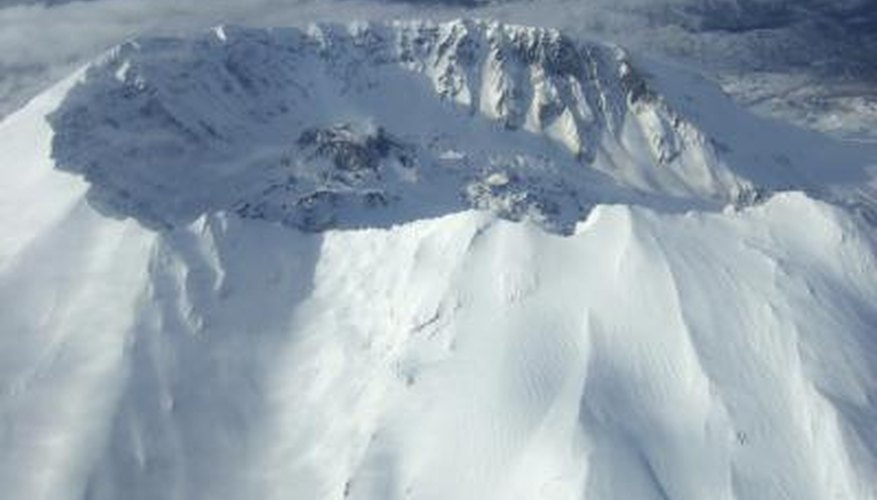 Mount St. Helens is a composite volcano.