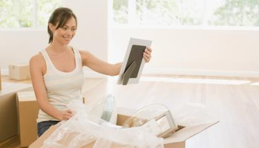 Careful packing ensures your pictures arrive safely at their new destination.