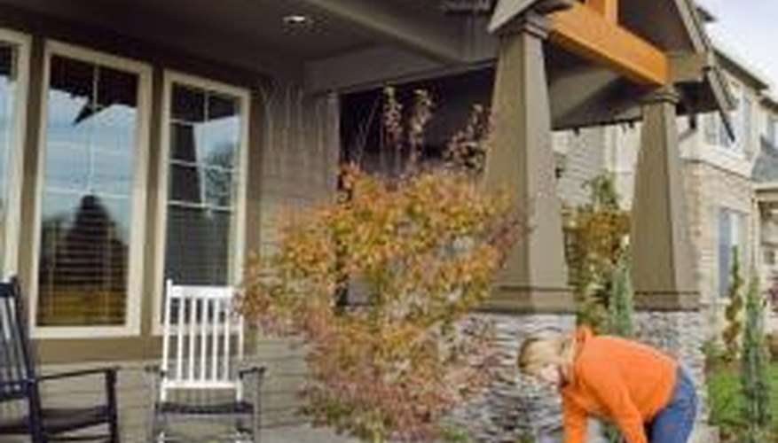 A professional landscaper helps make your home more attractive.