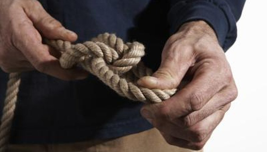 How to Get a Tight Rope Knot Loose