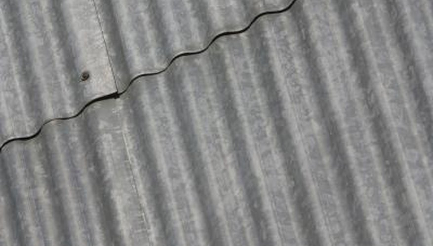 Steel deck is a type of extra sturdy corrugated metal.