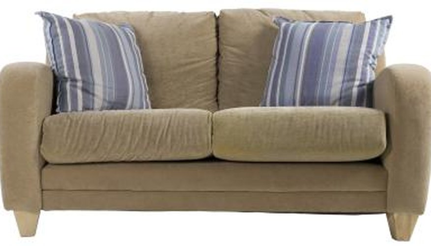 Inspect your couch to locate the cause of its sagging.