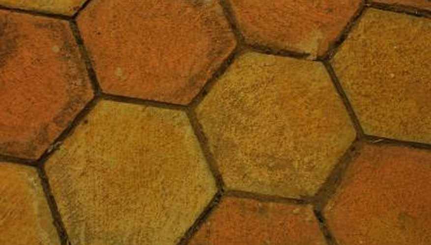 Sometimes the ceramic tiles on a table need updating.