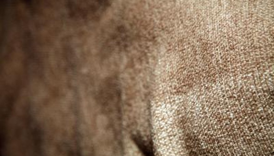 Chenille is a soft fabric often used to upholster furniture.