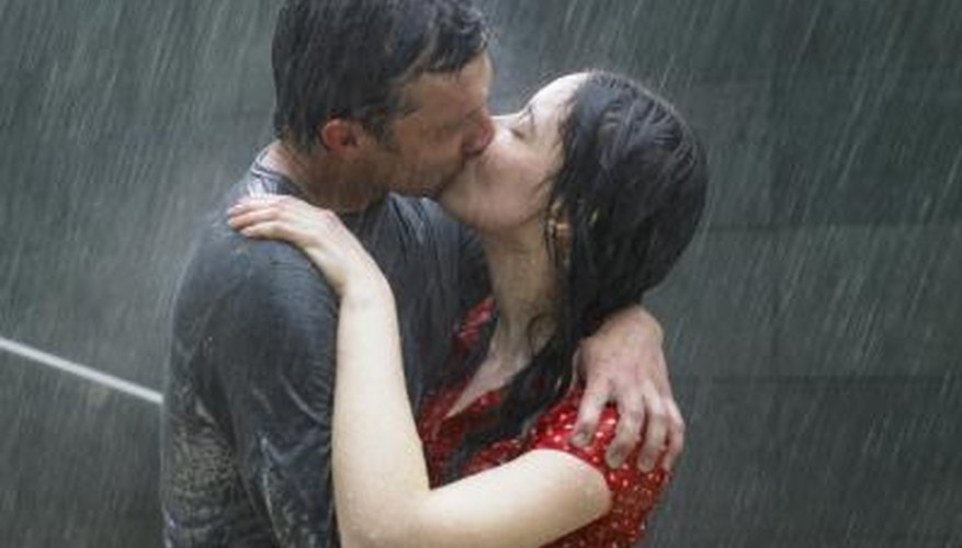 Go out in the rain anyway and make it a romantic afternoon to remember.