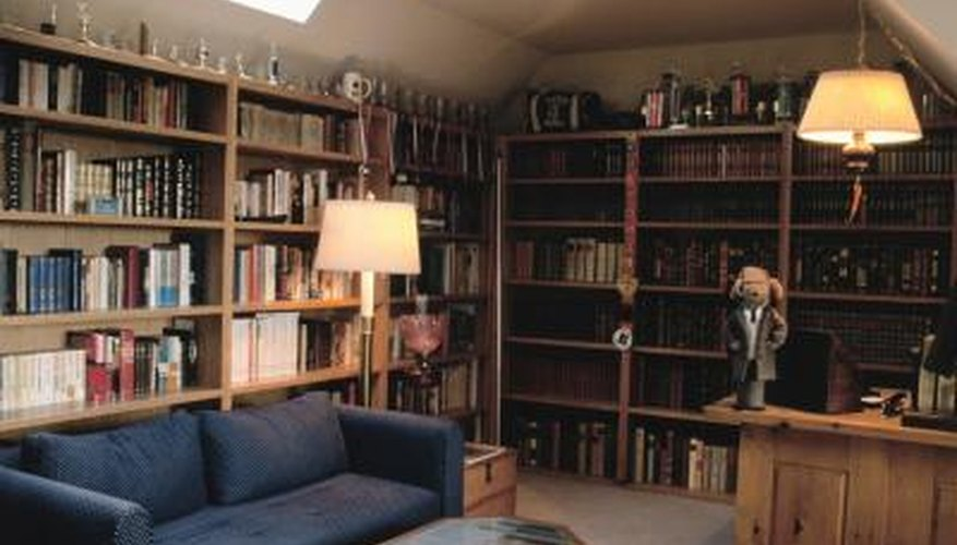 A personal library is an inviting place to while away an afternoon.