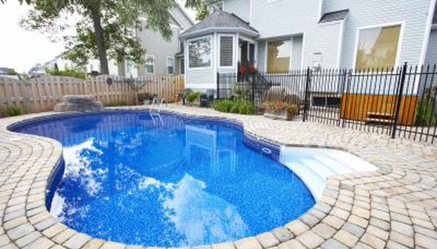 It's a good idea to keep water in your gunite pool.