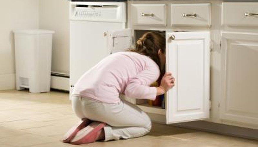 Lazy Susans help eliminate digging through deep, dark cupboards.