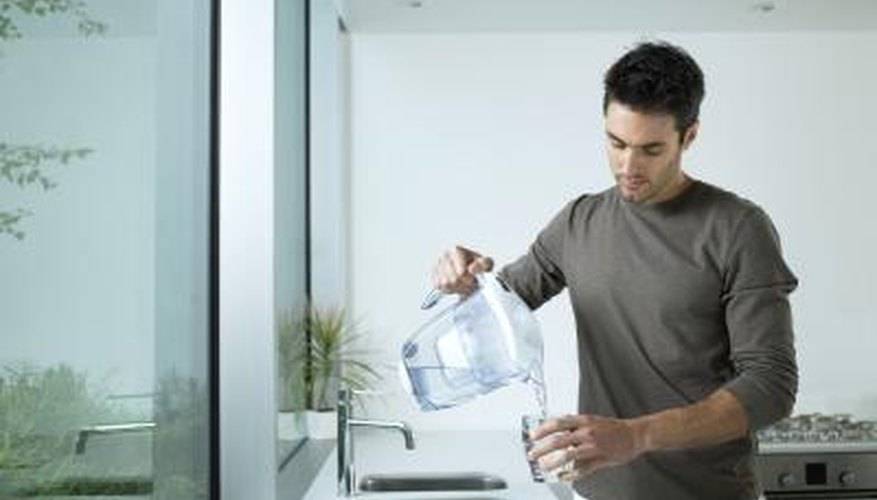 Advanced water filters can remove radioactive particles from drinking water.