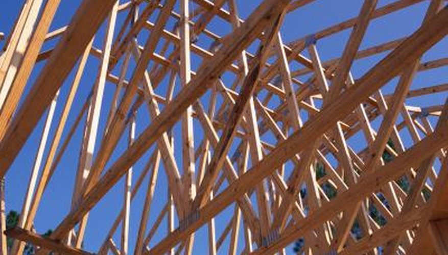 Properly bracing a roof can provide added strength.