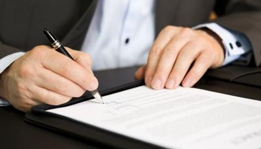 There is a significant amount of paperwork involved when operating a privately held corporation.