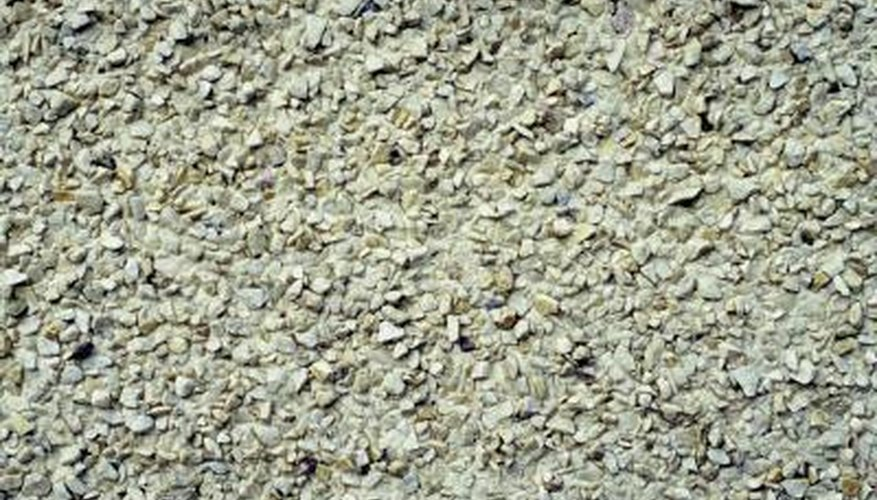 DGA is made of crushed limestone and dolomite.