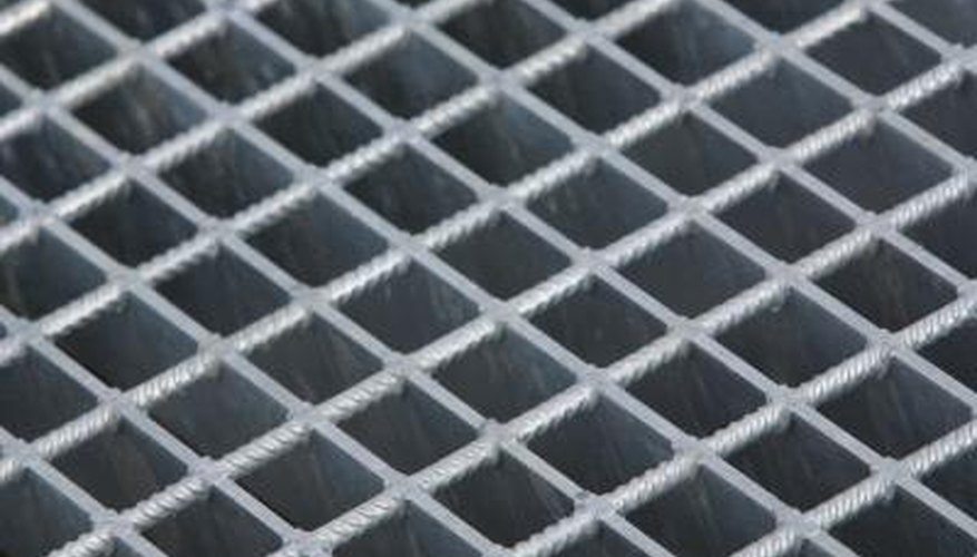 Wire mesh is long lasting.