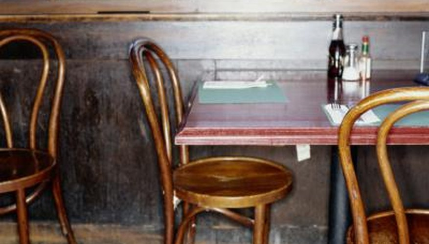 The simple beechwood bistro chair was invented and designed by a German  cabinetmaker in 1859. - About German Antique Furniture HomeSteady