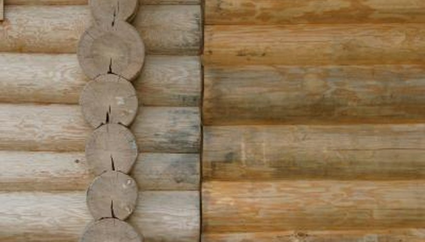 Yellow poplar logs are usually long and straight and useful for building log houses.