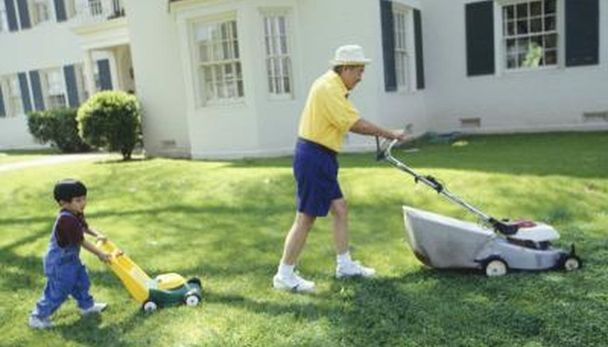 Keeping the grass cut short can make your lawn unattractive to chiggers.
