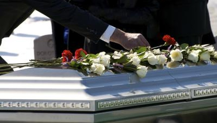 Carry enough life insurance to cover funeral costs.
