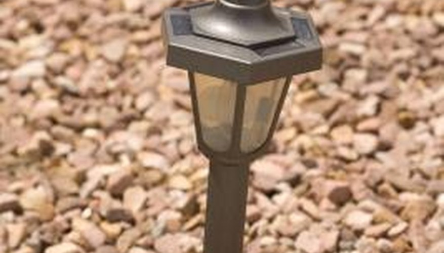 Install low-voltage lights to enhance your property.