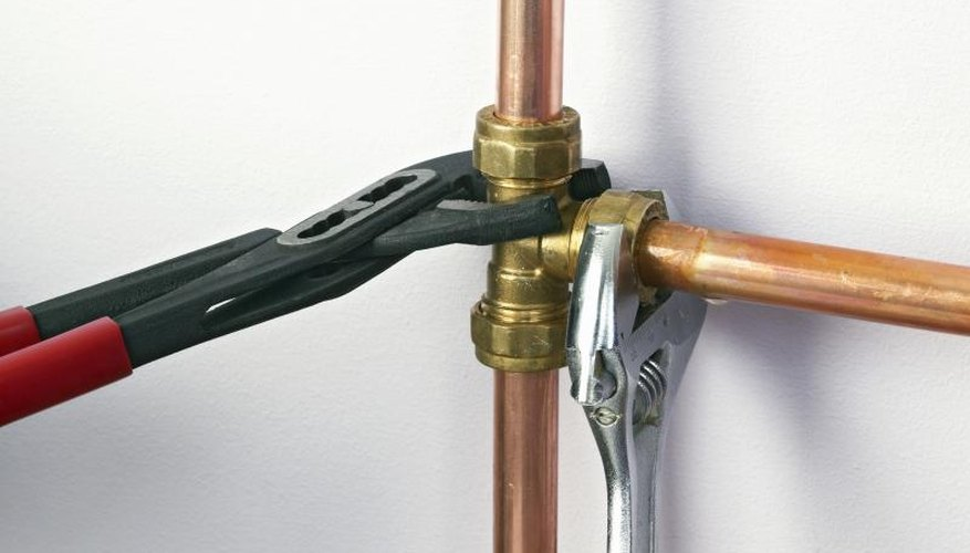 You can use brass pipe fittings in plumbing applications.