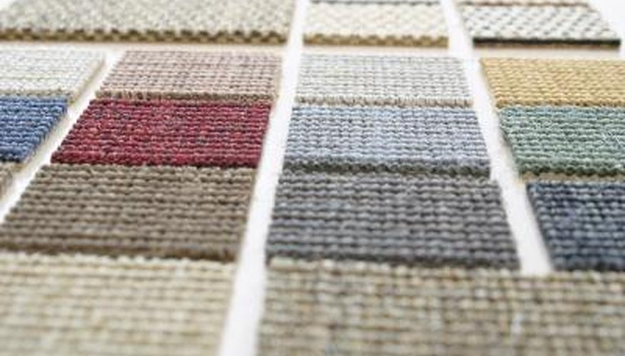 Examples of carpet tiles that can be bought to install without a professional