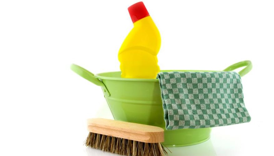 Common household bleach is found in products from mold-control shower sprays to toilet bowl cleaners.