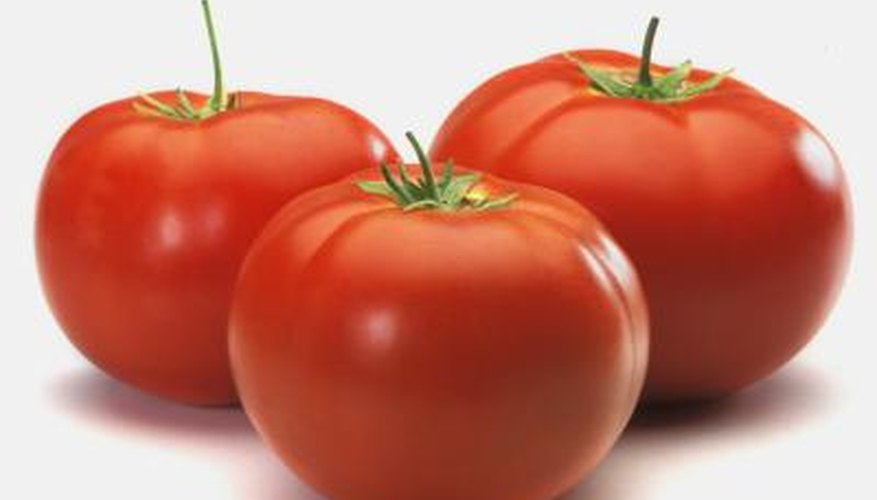 Sunlight is one element affecting a mature tomato fruit's size.