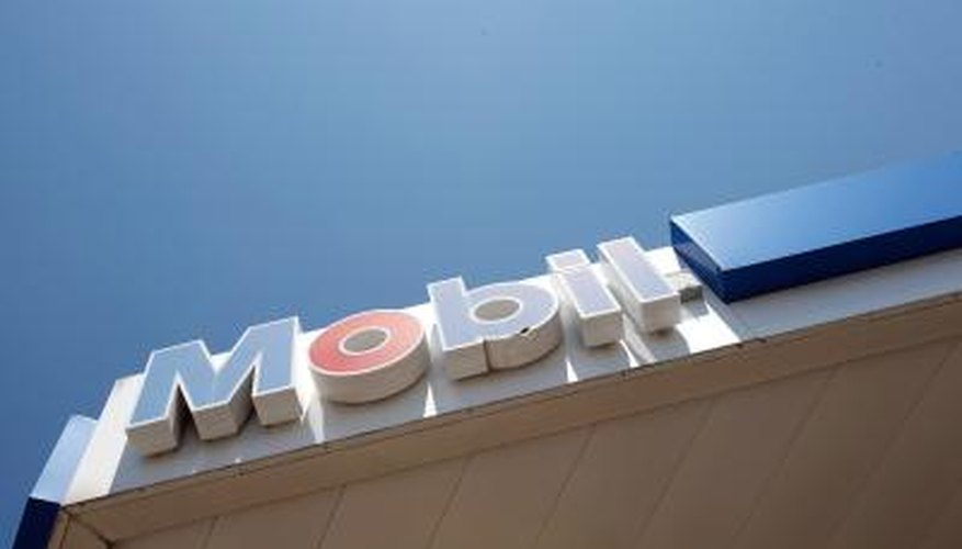 Mobil gas stations are a division of ExxonMobil.