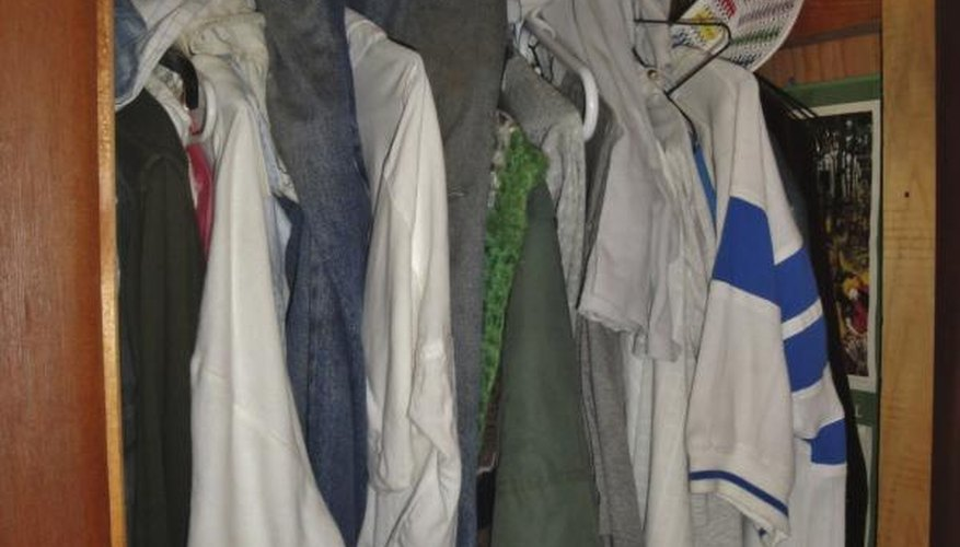 Exceptional Dirty Clothes And Smelly Shoes Contribute To A Stinky Closet.