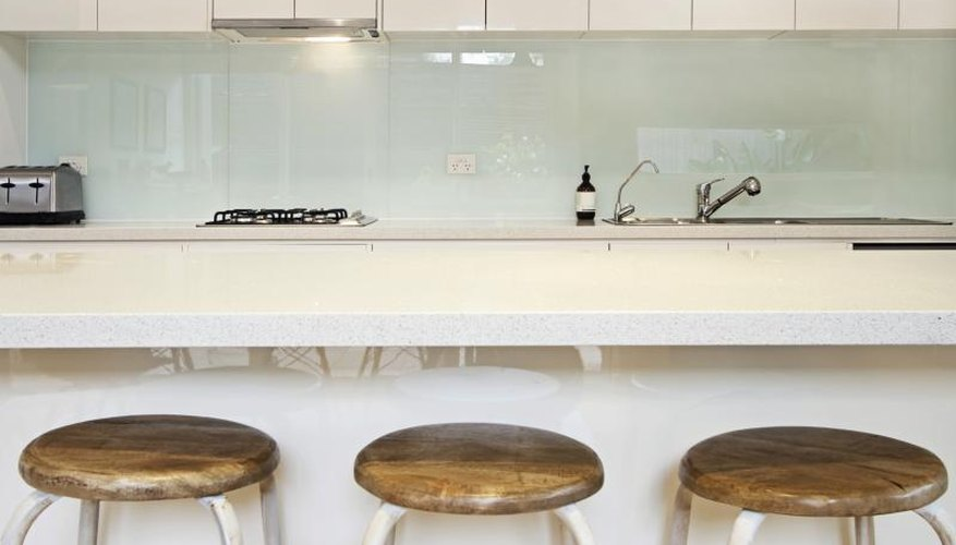 Seamless construction is the hallmark of a solid surface countertop.