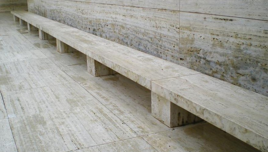 German architect Ludwig Mies Van der Rohe also designed the Barcelona pavilion in Spain.