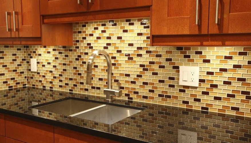 Don't do this to the backsplash over your granite counters.