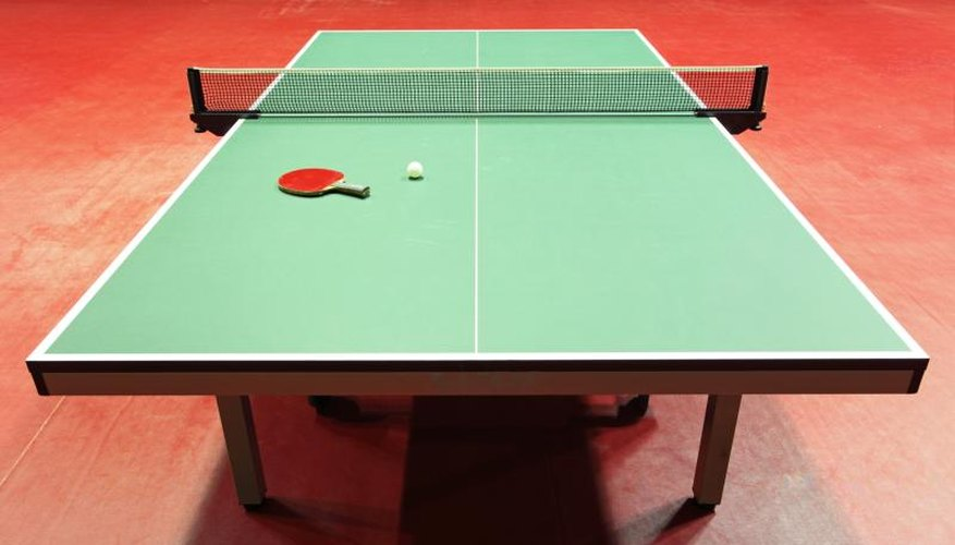 What Kind of Paint Is Used for Ping-Pong Tables?