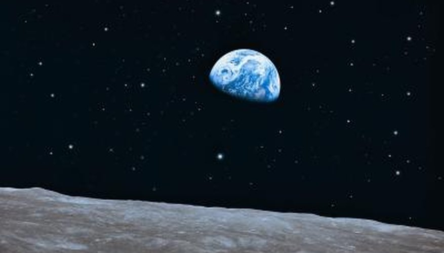 Earth and moon are popular astronomy project subjects.