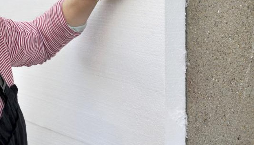 Foam Board Insulation Has Interior And Exterior Construction Applications