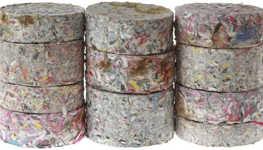 How to Make Paper Briquettes
