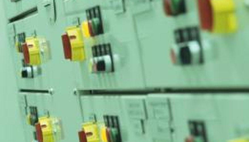Electrical panels are an electrical system's control center.