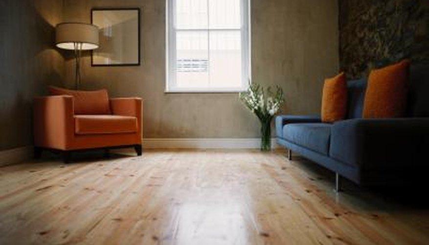 Bleaching A White Oak Floor Is A Permanent Procedure.