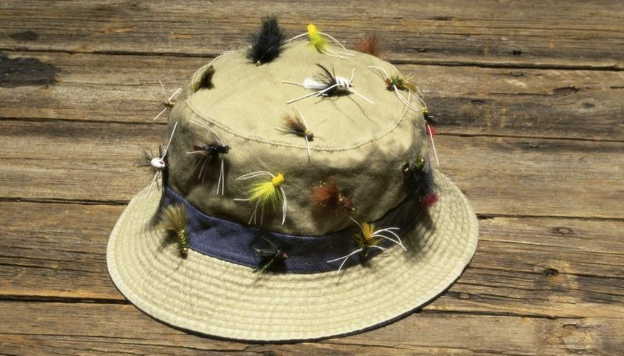 How to Put a Fishhook on a Hat