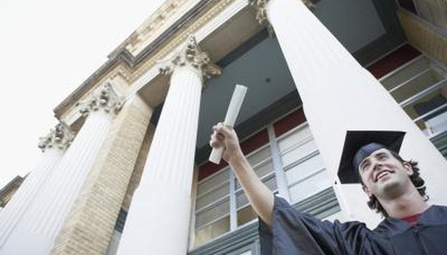College graduation marks the transition from school to the working world.