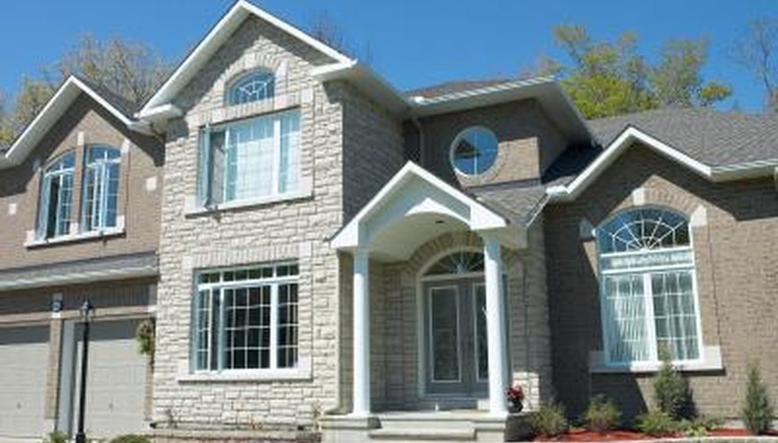 Well maintained windows add to the value of a house.