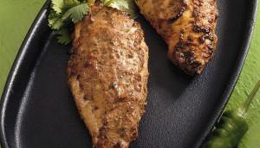 Real tandoori chicken requires the intense heat of a tandoor. oven.