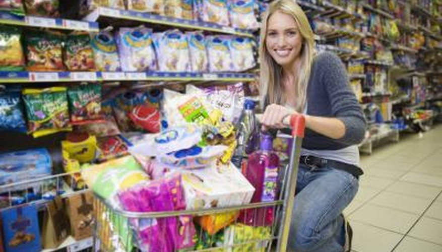 Sales bring customers into the store, but they still buy the same items every week.