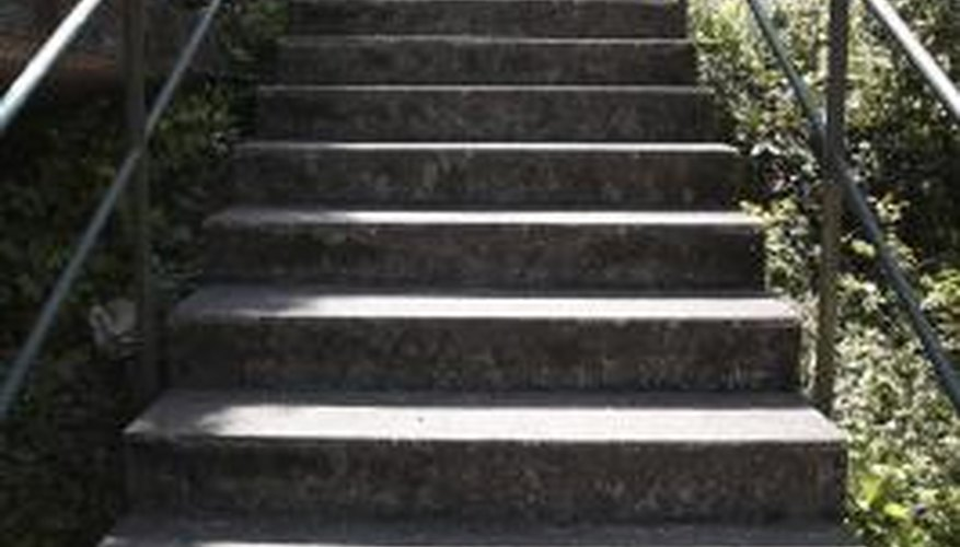Design concrete stairs for safety first.
