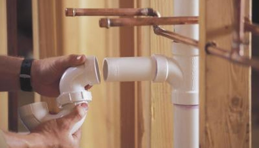 PVC is usually used for plumbing but makes a light-weight building material.