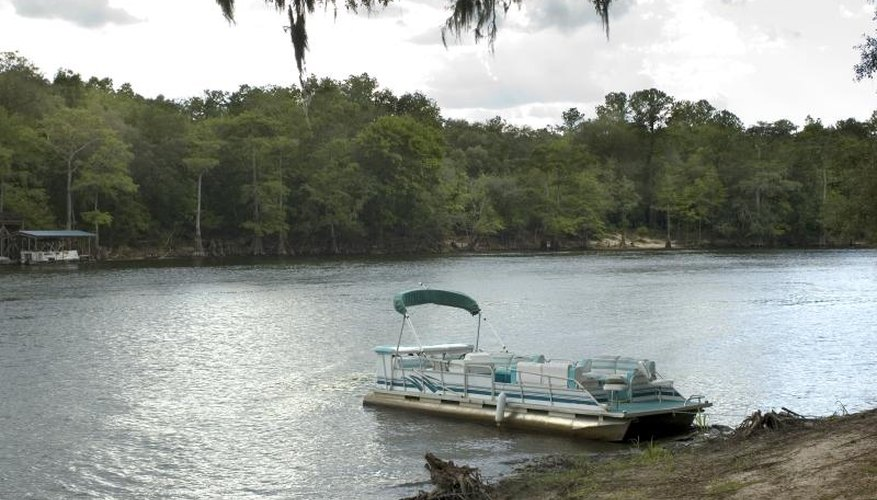How to Repair a Dent in a Pontoon Boat