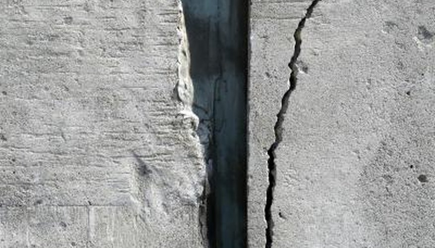 You can repair small cracks without removing the entire wall.