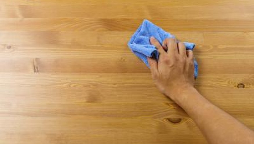 Paste wax deepens the color of both painted and natural wood.