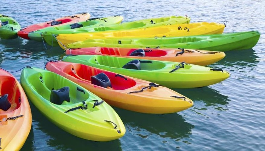 How to Restore Color to a Faded Plastic Kayak